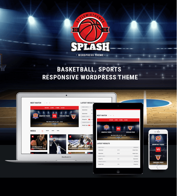 70+ Best Sport Wordpress Themes 2018 - WPdia