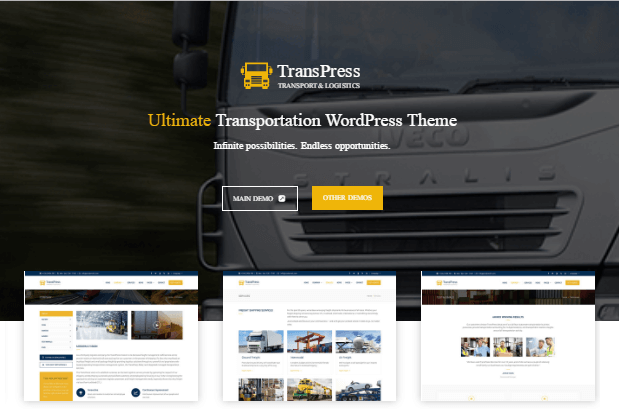 30+ Best Transportation & Logistics Wordpress Themes 2019 - WPdia