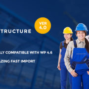 60+ Best Construction & Architecture WordPress Themes 2017