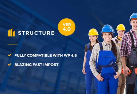 60+ Best Construction & Architecture WordPress Themes 2016
