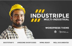 35+ Best Industrial WordPress Themes 2017