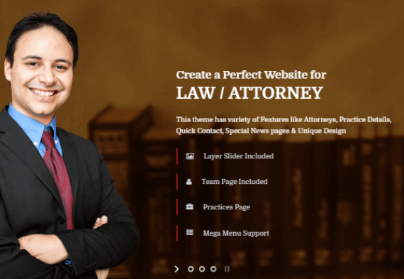40+ Best Lawyer WordPress Themes For Law Firm And Attorney 2017