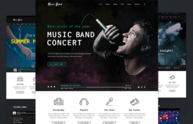 75+ Best Music WordPress Themes for Bands and Djs 2017