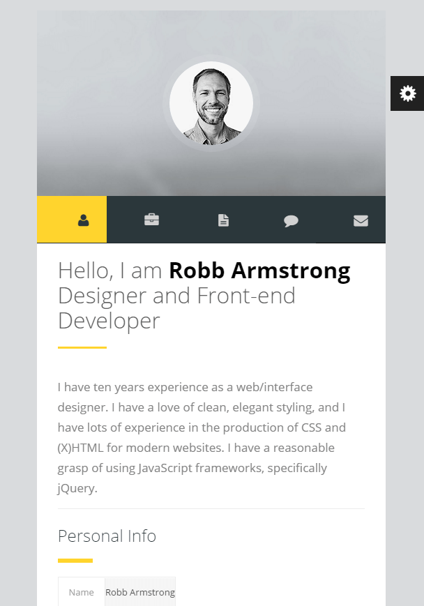 Premium Layers. Premium Layers Is WordPress VCard U0026 Resume Theme  Wordpress Resume Themes