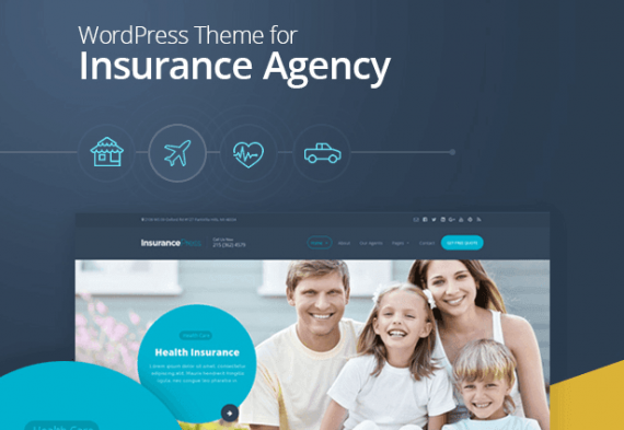 Top 15 Insurance WordPress Themes in 2016